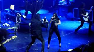 Moonspell - Raven Claws (Special Guest Mariangela Demurtas - 70000 Tons Of Metal 2016)