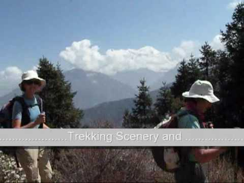 Langtang Valley Trek Nepal.wmv