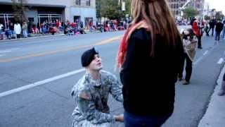 BEAUTIFUL VIDEO - Army Soldier Plans Surprise Reunion and Shocks His Lady!