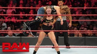 Ronda Rousey vs. Mickie James - Raw Women's Championship Match: Raw, Nov. 19, 2018