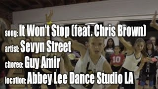 It Wont Stop (feat. Chris Brown) by Sevyn Streeter, choreo by Guy Amir, at ALDCLA