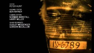 Goldfinger Opening Title Sequence