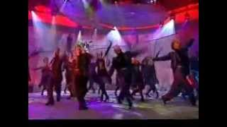 Original London cast of Fosse --The Brian Conley TV Show-2000;David Olton