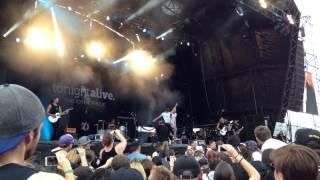 Tonight Alive ft. Bert McCracken(The Used)  ~ Guerrilla Radio (Rage Against the Machine)