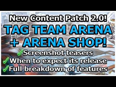 RAID Shadow Legends | NEW PATCH 2.0! | TAG TEAM ARENA + ARENA SHOP!! | FULL BREAKDOWN