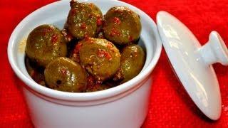 Vadu Mango (Baby Mango Pickle)