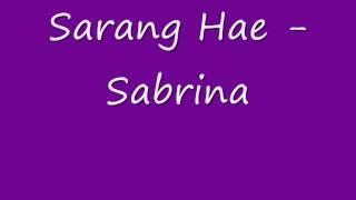 SarangHae By: Sabrina
