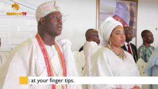 WATCH: OONI OF IFE SINGING IFE ANTHEM