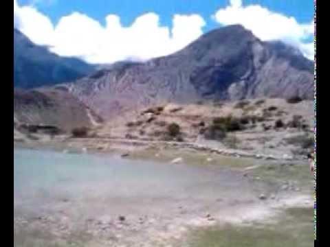 Dhumba Lake (Turquoise Lake) Jomsom. Mustang. Nepal 2011