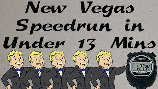 Fallout: New Vegas Beaten in Under 13 Minutes (SPEEDRUN EXPLAINED - Any%)