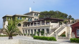 Hôtel Delos, île de Bendor, Bandol, Var (83), France
