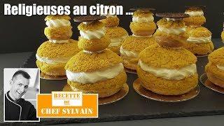 Religieuse au citron - Recette originale par Chef Sylvain !