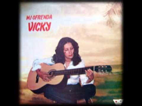 Tan Sola de Vicky Letra y Video