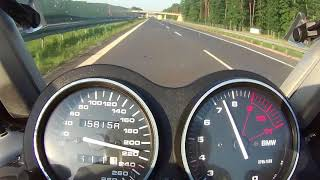 BMW K1200RS TOP SPEED