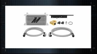 2003-2009 Nissan 350Z Infiniti G35 Direct Fit Oil Cooler Features & Benefits by Mishimoto
