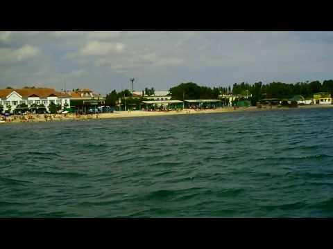Teodozja Feodosija Феодосія Феодосия – view of the beach from water HD