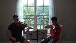 G.F. Handel -Music for the Royal Fireworks - L Rejouissance Allegro - Violin Duo