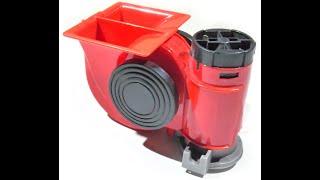 Potente Claxon Bocina Corneta Autos Bo095 Con Compresor