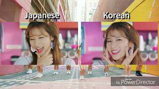 "TWICE   ""LIKEY"" (Korean & Japanese Comparision)"