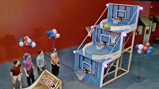 Giant Basketball Arcade Battle | Dude Perfect