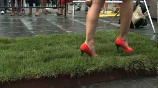You've Been Schooled Walking In Heels  Episode 3  - Walking on Grass