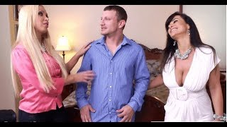 Nikki Benz & Her Friend Lisa Ann Playing With Cab Driver Mr.Pete