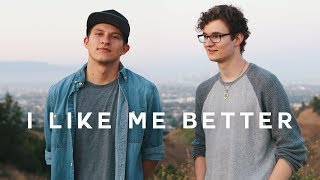 """I Like Me Better"" - Lauv Cover (Johannes Weber & Jake Roque)"