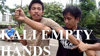 KALI EMPTY HANDS / FILIPINO BOXING : Rapido Realismo Kali Manila