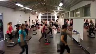 Step-Aerobic Fatburner Teil 1, MasterClass mit Swetlana Saporoschski