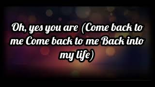 Blue If You Come Back Lyrics