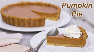 Pumpkin Pie: Torta de Abóbora Tradicional Americana | Receita Sandra Dias