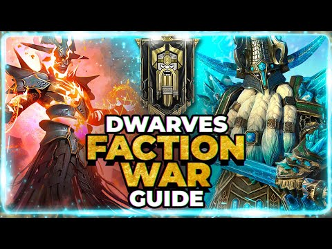 Full DWARVES Faction Wars Guide! TOUGH FIGHT! RAID Shadow Legends