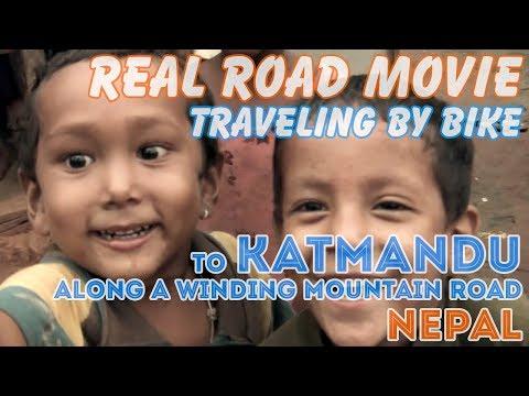 Bicycle Travel [Real Road Movie] Episode 42: to Katmandu, Nepal (Eng Sub)