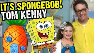 SPONGEBOB voice and ICE KING voice TOM KENNY Interview with PIPER REESE! Adventure Time!