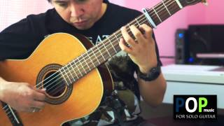 Lady - Kenny Rogers (solo guitar cover)