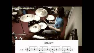 cold sweat drum notation - (James Brown)
