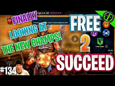 NEW CHAMPS, Daily Logins?!? New Fusion??? It's a Busy Day Bruh | Free 2 Succeed - EPISODE 134