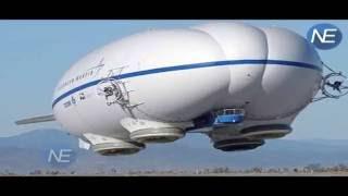World's Largest Airship Flying Bomb ने London के Cardington airfield से भरी उड़ान