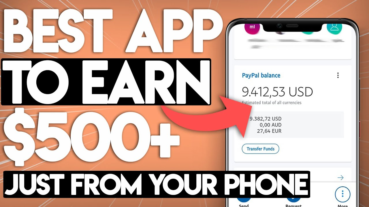 BEST App To Make Money From Your Phone For FREE
