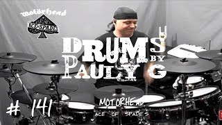 Motorhead - Ace of Spades [Drum cover] (TDRolandTD style) by Paul Gherlani