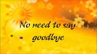 The Call (No Need To Say Goodbye) Lyrics by Regina Spektor