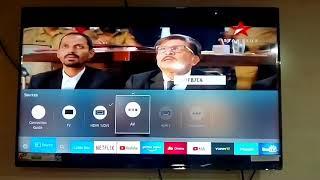 No signal at tv