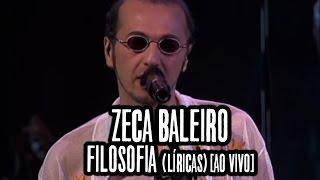 Zeca Baleiro - Filosofia (Líricas) [Ao Vivo]