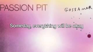 Passion Pit - Hideaway (Lyrics on Screen)