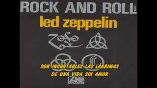 Led Zeppelin - Rock and Roll (subtítulos español)