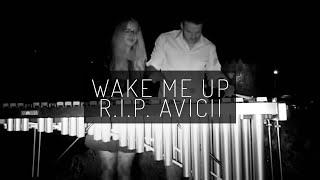 Avicii - Wake me up (Marimba cover) RIP :(
