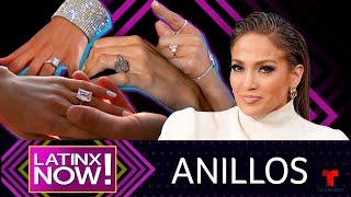 Detalles de los anillos de compromiso de Jennifer Lopez | Latinx Now! | Entretenimiento