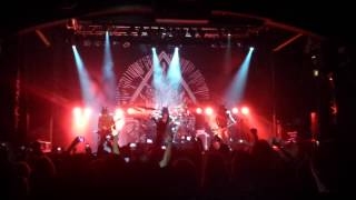 Behemoth LIVE - O Father O Satan O Son ending
