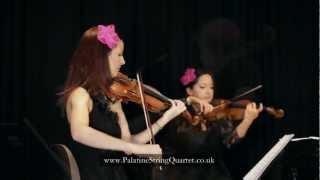 Palatine String Quartet perform Gabriel's Oboe by Ennio Morricone