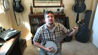I Will Follow You Into the Dark arranged for banjo in Am (Death Cab for Cutie cover)